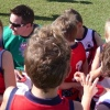 Under 8 Coolum RED V Noosa Blue 27.5.12
