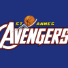 St Anne's Avengers Red Logo