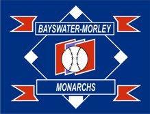 Logo for Bayswater Morley Monarchs Softball Club