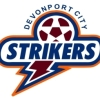 Devonport Strikers Blue Logo