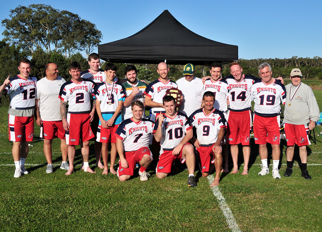Sunshine Coast Knights Lacrosse team 2016