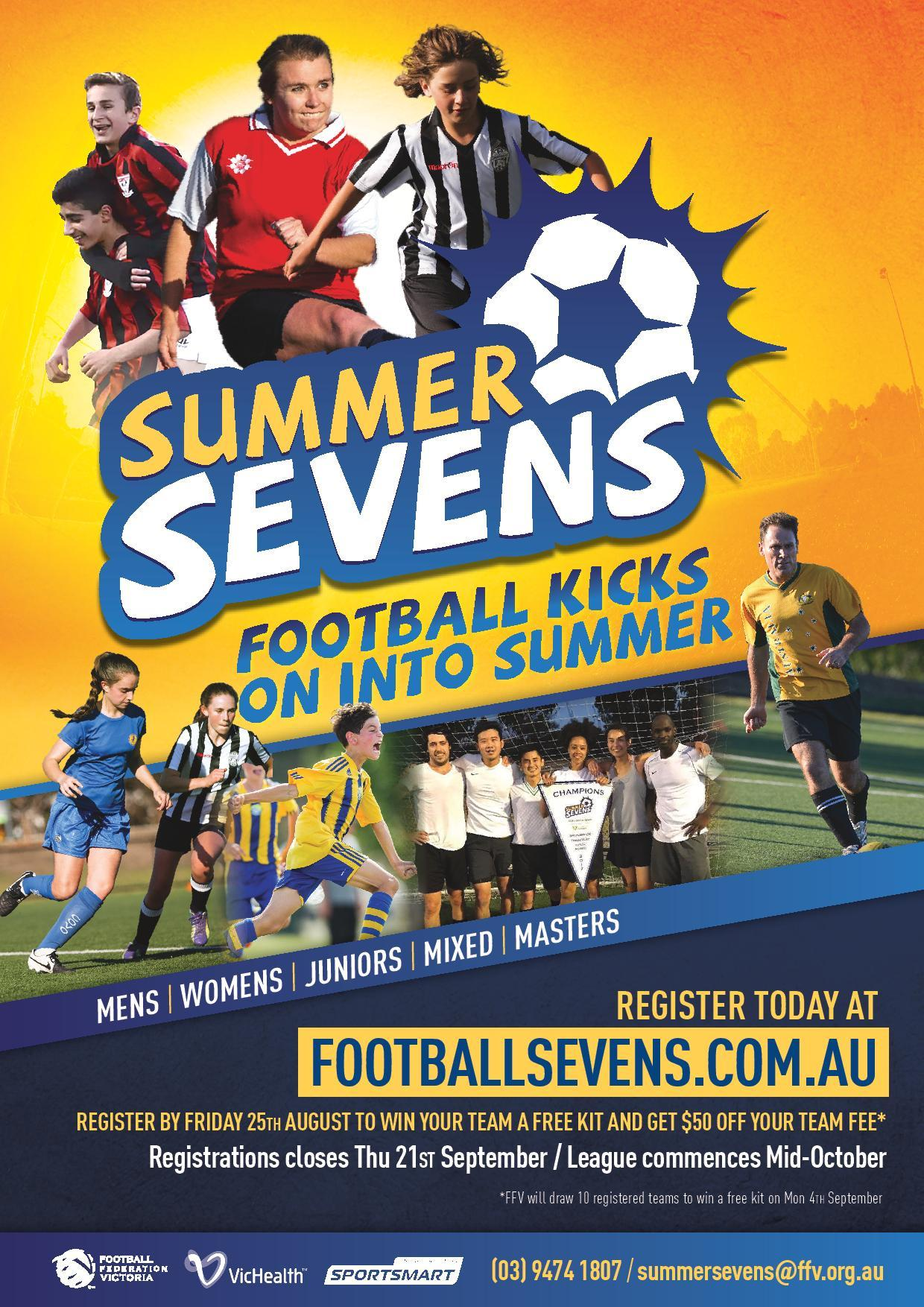 News Register Now For Summer Sevens At One Of Two Venues In The Geelong Region Starting October Ffv Geelong Region Sportstg