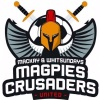 Magpies Crusaders United Logo