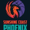 Sunshine Coast Phoenix Teal Logo