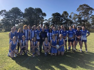 Footballers & Netballers with Barry Michael