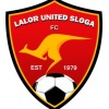 Lalor United Red Logo