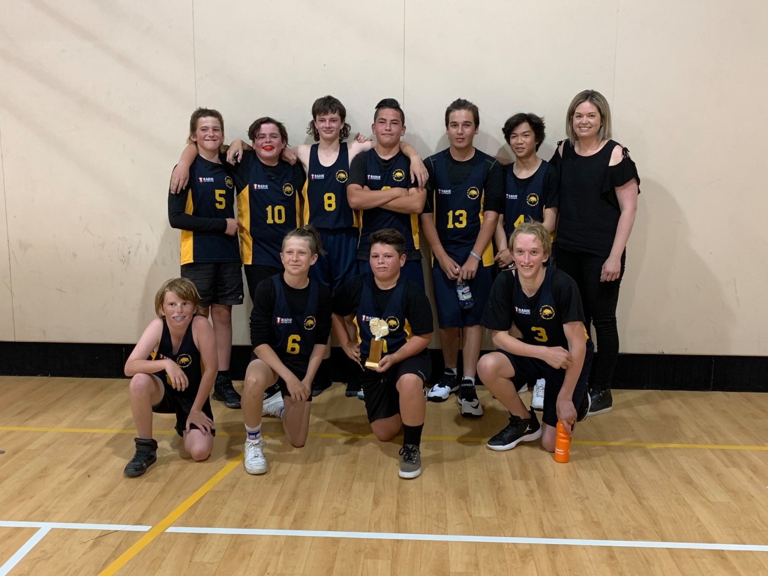 Kaiapoi Borough after winning section 6