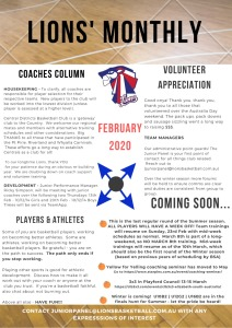 FEB 202 Newsletter
