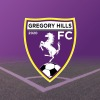GREGORY HILLS UNDER 9 PURPLE Logo