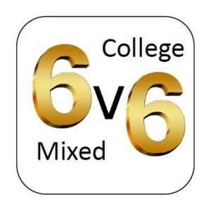 6v6 mixed college comp