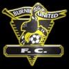 Burnie United Black Logo
